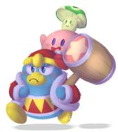 artist:LogicalLoony game:kirby_64 king_dedede kirby streamer:vinny vineshroom // 865x970 // 527.8KB