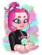 artist:colorbled game:splatoon_2 mem_cake octoling streamer:vinny // 850x1107 // 901.3KB