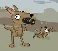 artist:pop_tab game:ultimate_epic_battle_simulator kangaroo streamer:vinny // 867x774 // 33.5KB