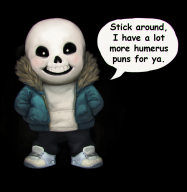artist:laram game:undertale sans skeleton streamer:joel // 926x950 // 454.8KB