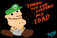 artist:JusticeNugget game:HE_THICC_2 game:wii_thicc speed_luigi streamer:vinny toad // 900x600 // 65.8KB