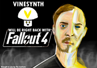 brb game:fallout_4 streamer:vinny vinesauce // 1754x1240 // 959.2KB