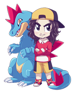 feraligatr game:pokemon game:pokemon_vietnamese_crystal streamer:joel // 636x804 // 248.5KB