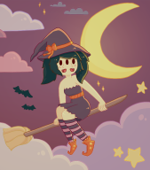 Halloween artist:lilybelle game:tomodachi_life streamer:vinny two_faced // 695x787 // 265.7KB