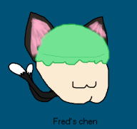 artist:notebook cat chen streamer:fred touhou // 577x548 // 42.2KB
