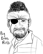 artist:battybeck big_boss bob_ross game:hard_time streamer:joel // 395x500 // 102.5KB
