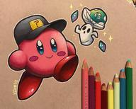 artist:bbastille cappy game:kirby_64 kirby streamer:vinny vineshroom // 2048x1640 // 571.7KB