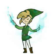 artist:lichpit game:hyrule_warriors game:legend_of_zelda game:wind_waker link streamer:vinny // 1900x1900 // 1.8MB