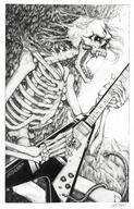 artist:gastbat guitar skeleton streamer:joel // 1600x2500 // 3.1MB
