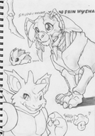 artist:pain-hyena bootleg bread bug_dating_sim cricket dating_sim furry game:kokonoe_kokoro game:pokemon game:pokemon_vietnamese_crystal insect insect_dating_sim monochrome nidoking pencil streamer:joel traditional vinesauce vineshroom // 722x1027 // 442.7KB