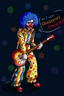 artist:CatRage blood_bagel clown spooptober streamer:vinny vinesauce // 728x1080 // 328.6KB