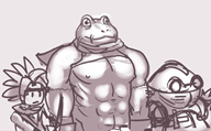 artist:buttburrito buff frog game:chrono_trigger streamer:vinny trash // 600x372 // 183.0KB
