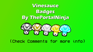 artist:theportalninja badge streamer:vinny vineshroom // 1366x768 // 169.8KB