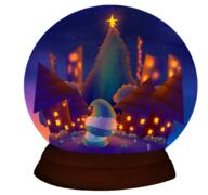 artist:skriptc christmas snow_globe streamer:vinny vineshroom // 2048x1920 // 1.7MB