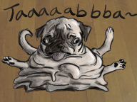 artist:dinglur corruptions game:nintendogs pug streamer:vinny // 640x480 // 271.3KB