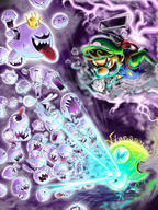artist:MartianKing boo luigi streamer:vinny vineshroom // 1200x1600 // 2.0MB