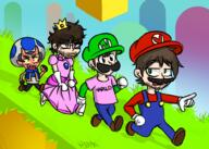 artist:HOMEBYMIDNIGHT game:super_mario_3d_world narry rubberross streamer:jabroni_mike streamer:vinny // 981x700 // 429.2KB