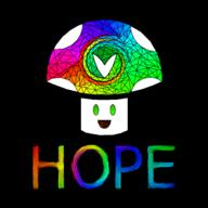 Vinesauce_is_Hope_2017 artist:RedSky streamer:joel streamer:vinny vineshroom // 1500x1500 // 697.6KB