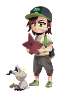 artist:frandlle game:pokemon game:pokemon_moon mimikyu streamer:vinny transparent // 714x1054 // 289.0KB