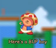 artist:KamiJoJo bup game:super_mario_all-stars game:super_mario_bros_2 simpleflips streamer:joel toad vargskelethor // 256x223 // 45.2KB
