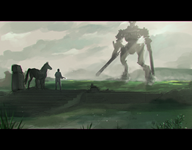 artist:laram game:shadow_of_the_colossus streamer:revscarecrow // 1920x1500 // 2.5MB