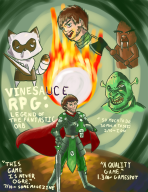 1a artist:superartninja game:animal_crossing_wild_world game:tomodachi_life rpg shrek streamer:vinny vinesauce walrus // 1488x1925 // 1.3MB