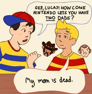 artist:dogs2thesequel game:earthbound game:mother_3 lucas ness streamer:vinny // 600x613 // 152.1KB