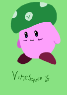 artist:jayquaza game:kirby_triple_deluxe kirby vinesauce // 1024x1448 // 72.5KB