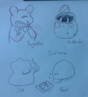 artist:goldenbugg ditto pokedraw pokemon // 1754x1936 // 911.7KB