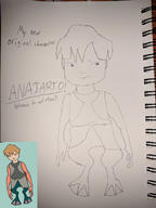anajarto artist:thebluebaze do_not_steal game:jar_jar's_journey original_character pencil star_wars streamer:vinny // 1000x1333 // 349.2KB