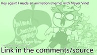 animation artist:origummy game:animal_crossing streamer:vinny // 1280x720 // 323.0KB