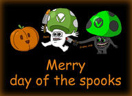 Halloween artist:eat-pant darkshroom pumpkin spooky streamer:vinny vineshroom // 1622x1180 // 216.1KB