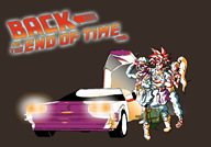 back_to_the_future crono game:chrono_trigger lucca marle streamer:vinny // 1215x850 // 325.8KB