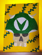 acrylic acrylic_painting hand_painted joel_vineshroom painting painting_on_canvas streamer:joel vinesauce vineshrooms // 1208x1550 // 3.2MB