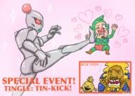 artist:MsFlowerThief98 buriki game:ripened_tingle's_balloon_trip_of_love kakashi lion streamer:vinny tingle // 700x500 // 314.2KB