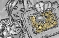 artist:IdleCanvas chocobo game:final_fantasy_ix nickleback streamer:vinny zidane // 1240x800 // 755.5KB