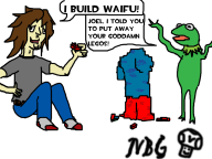 game:girlfriend_construction_set kermit streamer:joel waifu // 1024x768 // 233.4KB