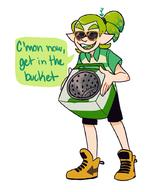 Splatoon artist:hamsfreth bucket game:splatoon_2 streamer:vinny // 741x903 // 195.8KB