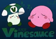 artist:RainySunDrop brb kirby streamer:vinny vineshroom // 1981x1398 // 3.1MB