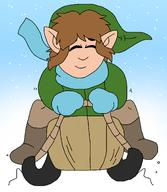 artist:critterz11 christmas game:a_link_to_the_past holiday legend_of_zelda link sled sledding streamer:vinny toboggan winter // 1363x1570 // 729.9KB