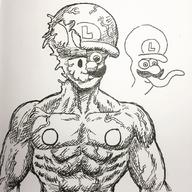 artist:the_jieb speed_luigi streamer:vinny // 1080x1080 // 189.0KB