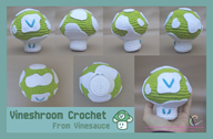 artist:computerstickman crochet streamer:vinny vineshroom // 1600x1050 // 1.8MB