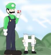 H artist:baronxvi game:pokemon luigi streamer:joel // 2250x2450 // 1.1MB