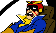 animated artist:busket captain_falcon corruptions f-zero seizure_warning streamer:vinny // 500x296 // 57.9KB