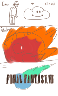 artist:iggysama cloudbro comic final_fantasy game:final_fantasy_vii secrets_of_grindea streamer:vinny // 600x1000 // 236.5KB