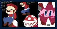 artist:PewPewJunes game:super_smash_bros_Ultimate kirby mario piranha_plant streamer:vinny // 2500x1280 // 482.2KB
