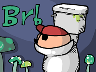 animated artist:tinbonk brb mario streamer:vinny toilet vinesauce_toilet_account vineshroom // 800x600 // 401.7KB