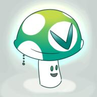 artist:mossidraws darkshroom lightshroom streamer:vinny vineshroom // 480x480 // 118.4KB