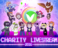 artist:candykidneys charity_stream_2016 dragon streamer:darren streamer:direboar streamer:fred streamer:hootey streamer:imakuni streamer:joel streamer:ky streamer:limes streamer:mentaljen streamer:revscarecrow streamer:vinny vinesauce // 2216x1849 // 2.7MB
