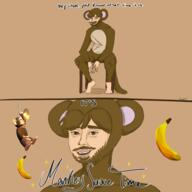 animated artist:scootlei banan game:monkesauce game:monkey_fortunetell gif monke streamer:vinny // 600x600 // 2.4MB
